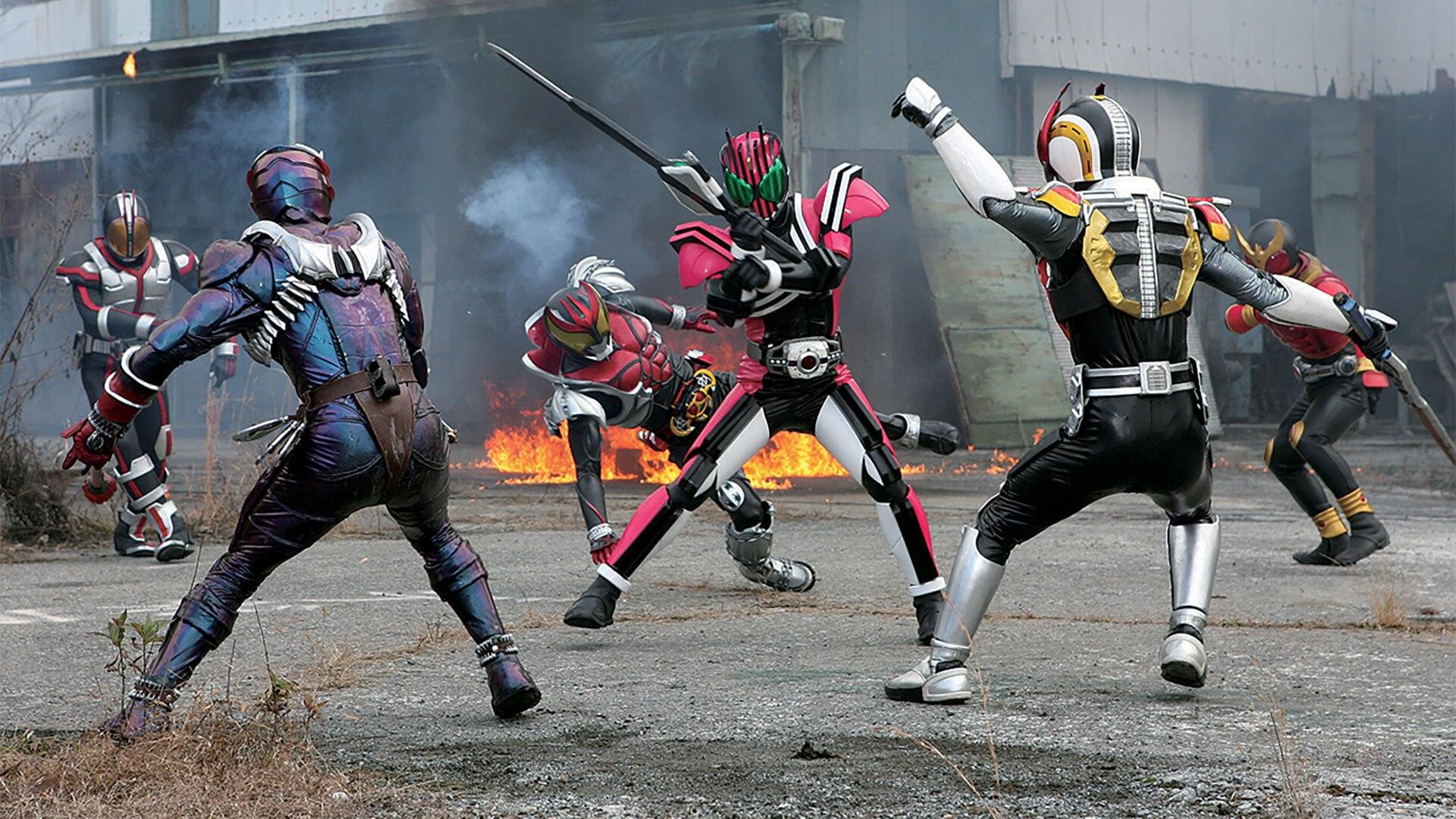 仮面ライダー×仮面ライダー W&ディケイドMOVIE大戦2010(劇場版)