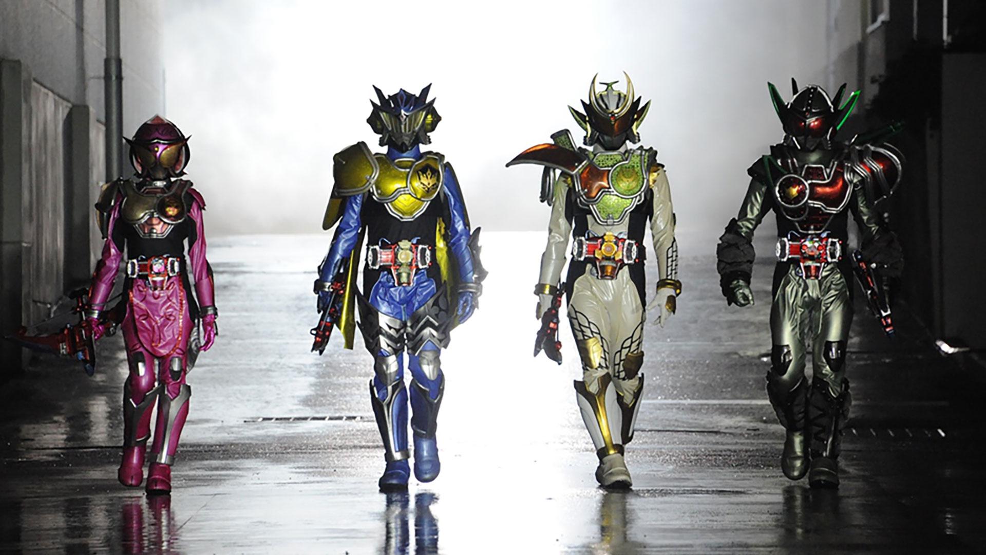 鎧武/ガイム外伝 仮面ライダーデューク/仮面ライダーナックル