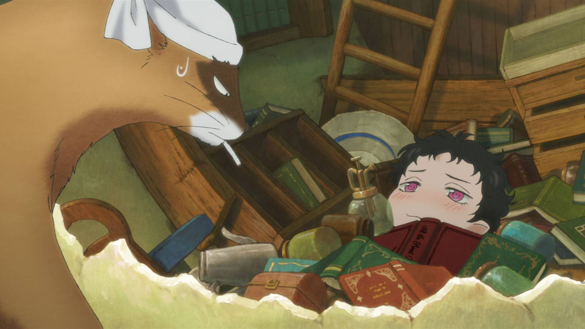 ハクメイとミコチ OVA